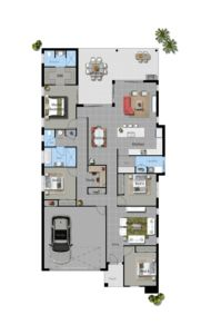 Illustrious Homes Charlotte Pass Floor Plan