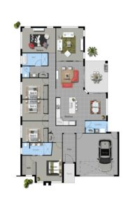 Illustrious Homes Kiandra Floor Plan