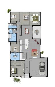 Illustrious Homes Moonbah Floor Plan
